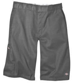 Dickies Men's 13 Inch Inseam Short With Multi Use Pocket, Charcoal, 33