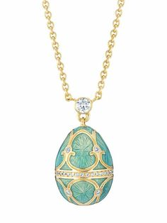 faberge jewelry | Faberge egg necklace