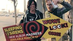 ■ Sleeping With Sirens ■ Go Go Go ■ Album 2016 Warped Tour Compilation Various Artists new on 117 Amazing Songs, Love Songs, Love Band, Cool Bands, My Favorite Music, Favorite Person, Sleeping With Sirens Madness, Song Challenge, Youtube News