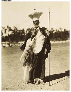 Eritrea - Eritrean priest - 1936  www.becomecourageous.com