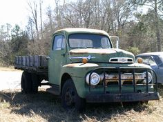 '51 Ford F-4 — almost worth having just as yard sculpture, some flowers in the bed maybe.