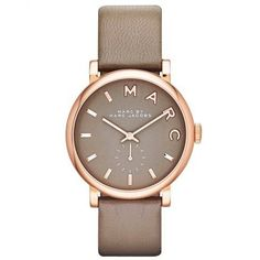 Montre pour femme : Marc by Marc Jacobs Baker 37mm Chocolate Brown Dial & Strap Ladies Watch MBM1266 From Berrys Jewellers