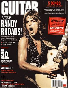 Randy Rhoads - Guitar World