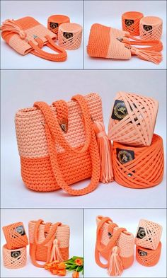 crochet handbags 40 Free Crochet Patterns And Ideas For Bags, Purses, And More - Diy & Craft Free Crochet Bag, Crochet Tote, Crochet Handbags, Crochet Purses, Crochet Crafts, Crochet Yarn, Diy Crafts, Crochet Backpack, Crochet Shoulder Bags