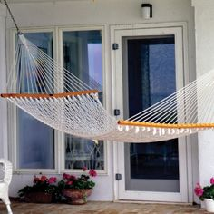 Check out the Single Original Cotton Rope Hammock in Hammocks & Porch Swings from Pawleys Island Hammocks for Rope Hammock, Hammock Chair, Hammock Stand, Pawleys Island Hammock, Hammocks For Sale, Hammock Accessories, Cotton Rope, Outdoor Furniture, Hammocks