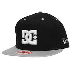 Casquette DC Shoes Snapback New Era Cap RD Pastime black Kids Hats 23bf4430f14f