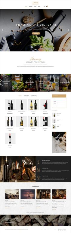 Ri Winnes is a elegant responsive #WordPress WooCommerce Theme perfectly suited for #Wine #shop and Restaurant website with 10 unique homepage layouts download now➯ https://themeforest.net/item/winnes-responsive-wine-and-restaurant-woocommerce-theme/16431384?ref=Datasata