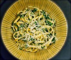 Blond Kitchen: Pinaatti-ricottapasta