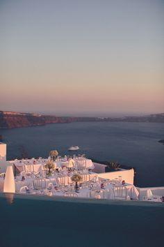 Weddings at Grace Santorini. Photo by Chris Spira.