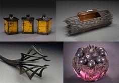 Contemporary forged pieces.