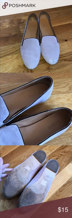 d99e02684f89f6 JCrew Factory smoking slippers lavender suede 11 Comfortable smoking  slipper style loader from JCrew Factory.