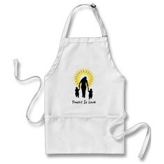 Family Is Love Sun Apron