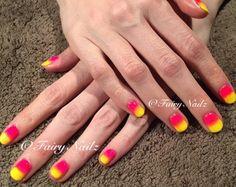 Fairy Nailz: #CNDShellac with neon additives