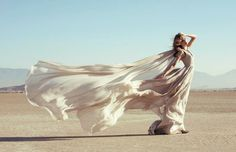 Dress Blowing in the Wind | dress in the wind