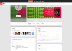 Teabox google+ page