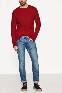 ESPRIT Stretch-Denim aus Baumwolle für 39,99€. Stretch-Denim aus Baumwolle, We love Denim! Diese 5-Pocket-Jeans überzeugt mit bei OTTO