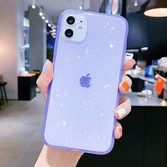 Cool Phone Cases 627337423082676750 - iPhone 11 Case Clear Glitter,Anynve Sparkle Bling Case [Air Cushion Anti-Shock Matte Edge Bumper Design] Cute Slim Soft Silicone Gel Phone Case Compatible for Apple iPhone 11 Anynve Source by Girly Phone Cases, Pretty Iphone Cases, Iphone Phone Cases, Iphone Case Covers, Iphone Headphones, Clear Phone Cases, Iphone App, Apple Iphone, Capas Iphone 6