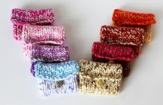 Sweet Dream Pouch  Wish Pouch  Healing Dreams  by KnitPeddler, $5.50