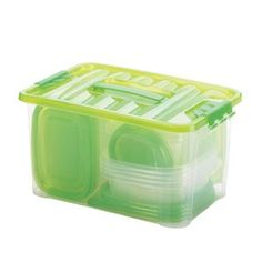 Picture of 54 Peice Food Storage Set  Green