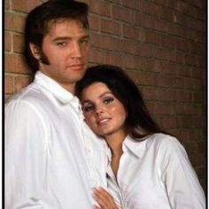 Elvis and Priscilla (photoshopped onto two models).