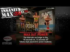 """Insanity Max 30 http://ettfit.us/go/Insanity-Max-30. Introducing INSANITY MAX:30 - 30 minutes. INSANE results. From Trainer Shaun T! - BeachbodyINSANITY MAX:30 will be the hardest 30 minutes of the day and customers need to be ready to MAX OUT. It's not about """"getting through"""" all 30 minutes, it's about going as hard as possible, for as long as possible, until becoming """"MAXED OUT"""" (i.e. until taking the first rest and/or breaking proper form). No equipment needed just push to the MAX for…"""