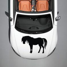 HORSE MUSTANG ANIMAL CUTE DESIGN HOOD CAR VINYL STICKER DECALS GRAPHICS SV3714