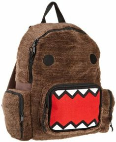 Domo Plush School Backpack