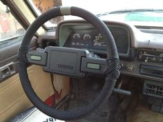 ParaCord Steering Wheel - Pretty Cool! Must Try This!
