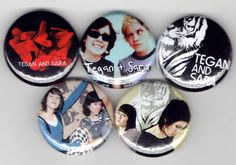 Tegan and Sara  Set of 5  So Jealous If It Was by thepbrebellion,