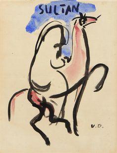 Kees Van Dongen_ Sultant_1925
