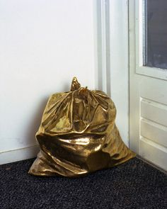 Gold anything even trash bags