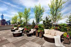 Holzverkleidungen Dachterrasse | Dachterrasse & Sichtschutz ...