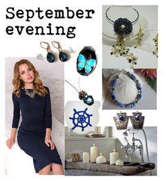 """September evening"" by varivodamar ❤ liked on Polyvore featuring modern"