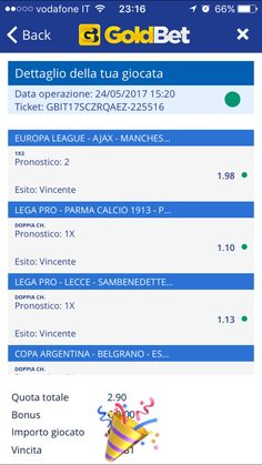 Pronostico Finale Europa League e Serie D. Scommessa vincente.