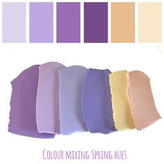 Blog Post colour mixing purple hues at lottie of london jewellery