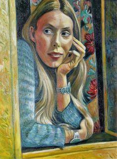 Joni Mitchell ~ Self-Portrait.
