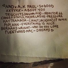 """littledragon:  Here is a lill list of good stuff. Inspire us with your old and new favorites, what are you guys listening to?  """"Pools""""-Glass Animals (Roosevelt Remix)"""