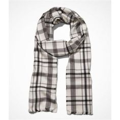 $29, White and Black Plaid Scarf: Express Plaid Woven Scarf. Sold by Express. Click for more info: https://lookastic.com/men/shop_items/147187/redirect