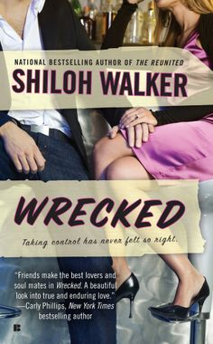 """Steamy Reads For Winter""""Wrecked' by Shiloh Walker """"With its touching best-friends-to-lovers arc, the novel is both sexy and poignant.""""  When Abby's fiance dumps her weeks before the wedding, her best friend Zach wonders if it's finally time to risk everything and tell her how he really feels."""