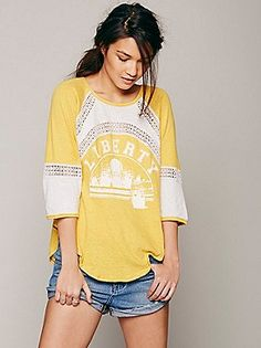We The Free Monteray Tee at Free People Clothing Boutique