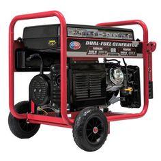 All Power 10000 Watt Dual Fuel Generator Gas/Propane Portable Generator with Electric Start, EPA Certified Dual Fuel Generator, Gas Powered Generator, Portable Power Generator, Inverter Generator, Solar Generator, Apocalypse, Power Backup, Tool Store, Power Energy