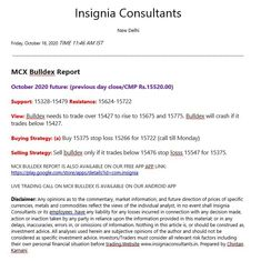 Mcx comex forex reports calls tips