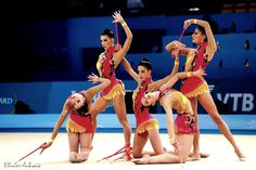 rhythmicgymdream:  December 14: Spain's first place, clubs final That's such a great team! And a dream came true in Kiev last summer… Thank you so much for your energy and charisma, team Spain!