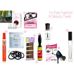 Do you keep an Emergency Fashion + Makeup Kit with you at the office? You should! And here are 10 items it MUST include! http://www.brainsoftheoutfit.com/2013/06/10-quick-fashion-beauty-fixes-to-stash.html