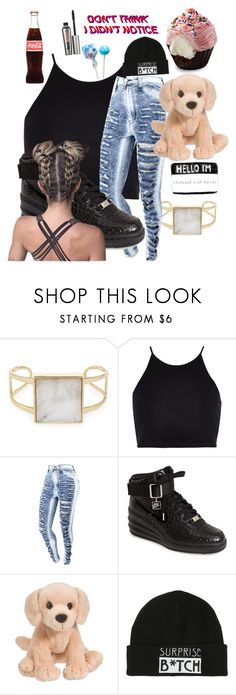 """""""Untitled #2031"""" by inspiredbyart345 ❤ liked on Polyvore featuring Alexis Bittar, River Island, NIKE, Lab and Benefit"""