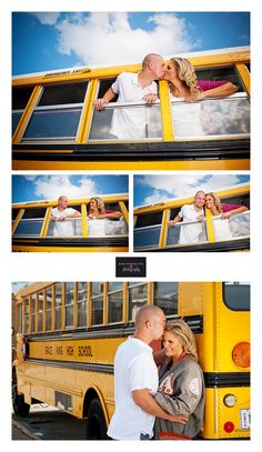 We sat together everyday on the bus in 7th grade... Would be a cute anniversary pic! #MiddleSchoolSweethearts :)