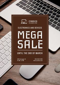 Special Sale with Digital Devices — Create a Design Edit Online, Online Posters, Marketing Materials, Ecommerce, Templates, Create, Digital, Design, Stencils
