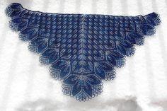 Haruni by yarnloopie, via Flickr    Next major knitting goal-lace shawl.