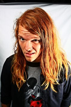 Aaron from Underoath. Most beautiful man.