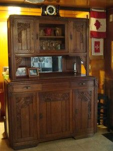 Our Client Betty In Florida Purchased This Art Deco Buffet And The Art